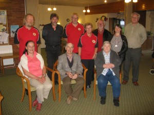 Members of the WPA with the Ruthin Organisers.