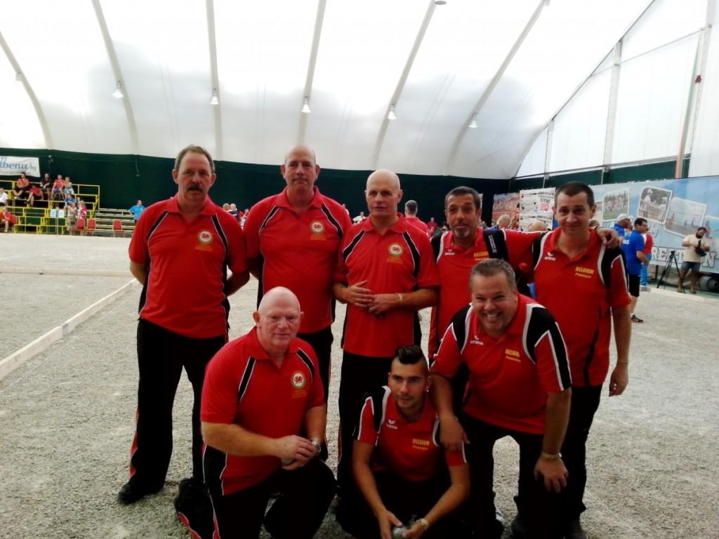 Round 2 - Wales v Belgium