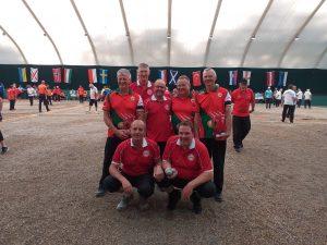 EC Triples: Veterans 5th Round Wales v Denmark.