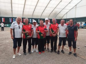 EC Triples: Veterans Group Match Wales v France.