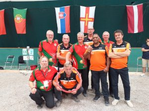 Round 2: Wales v Netherlands