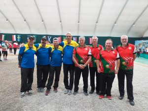 EC Triples: Men Round 2 Wales v Ukraine