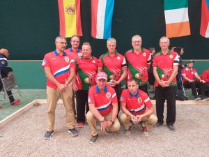 EC Triples: Men 5th Round Wales v Russia